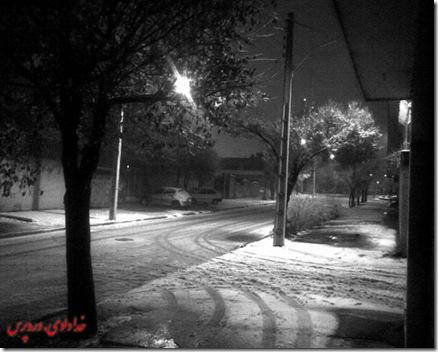 برف شهرکرد